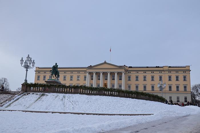 Sehenswürdigkeiten Oslo Königliches Schloss Oslo