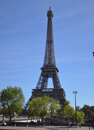 Kurztrip Paris - Eiffelturm in voller Größe