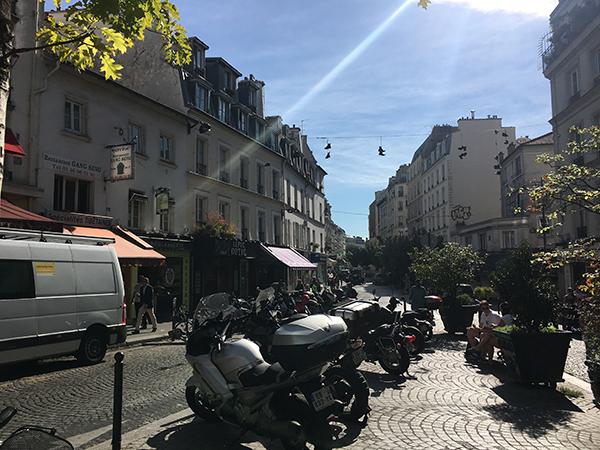 Kurztrip Paris - Montmartre - Straßenbild