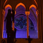 Notre Dame Paris innen Glasfenster