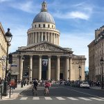 Blick auf das Pantheon Paris