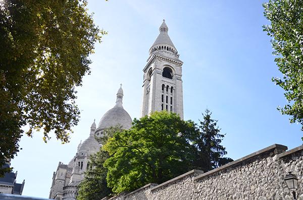 Kurztrip Paris - Montmartre - Blick auf die Basilika Sacré Coeur