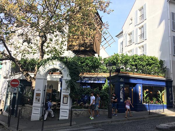 Kurztrip Paris - Montmartre - Windmühle Restaurant