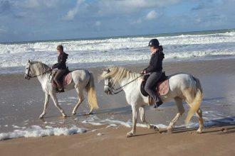 Kurztrip Andalusien - reiten am Strand