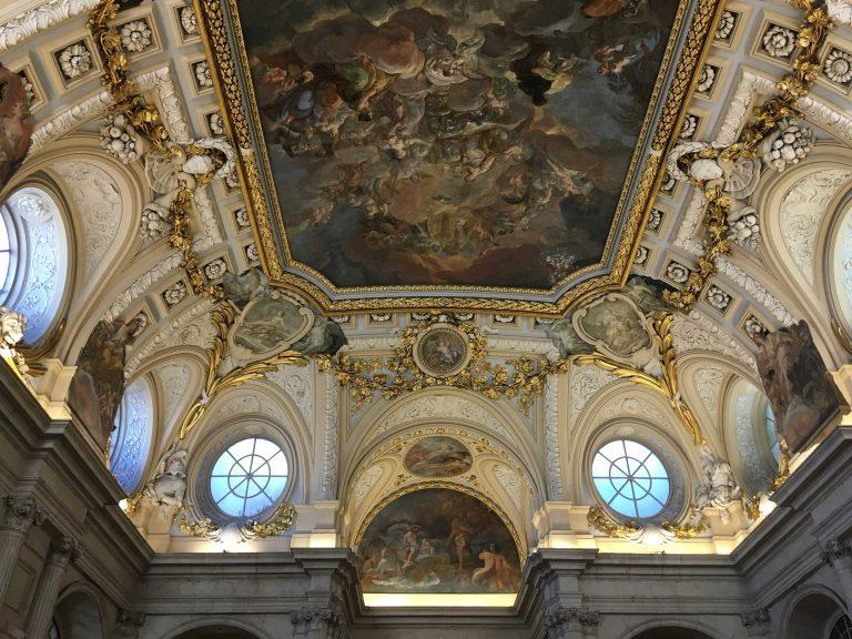 Königspalast Decke