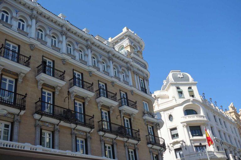 Madrid Häuser