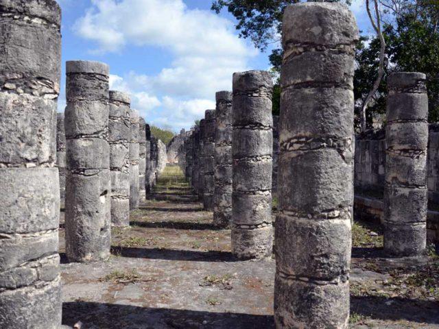 Chichen Itza-Säulen