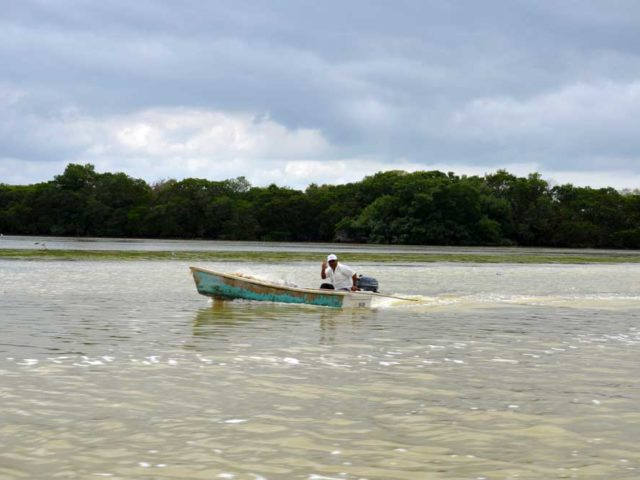 Fischerboot-Celestun