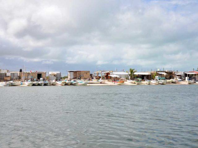 Fischerhafen-Celestun