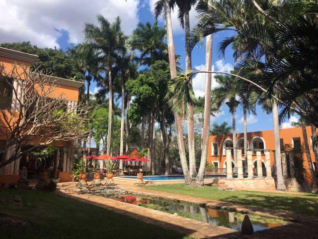 Hacienda-uxmal Pool
