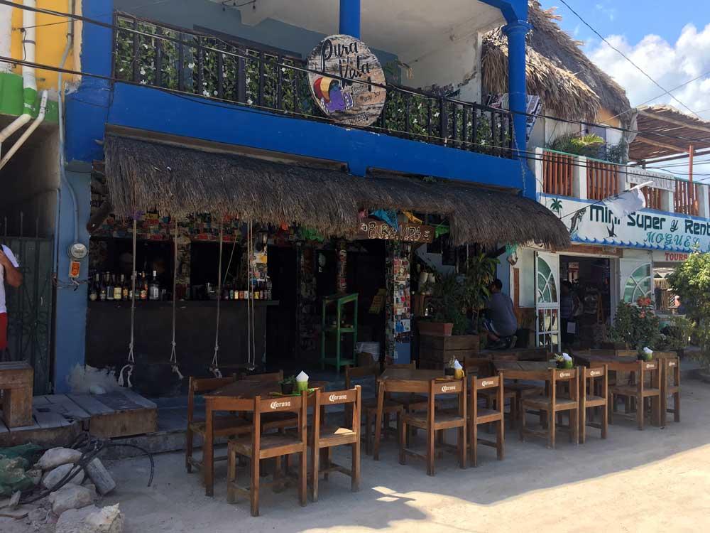 Insel-Holbox-Bar