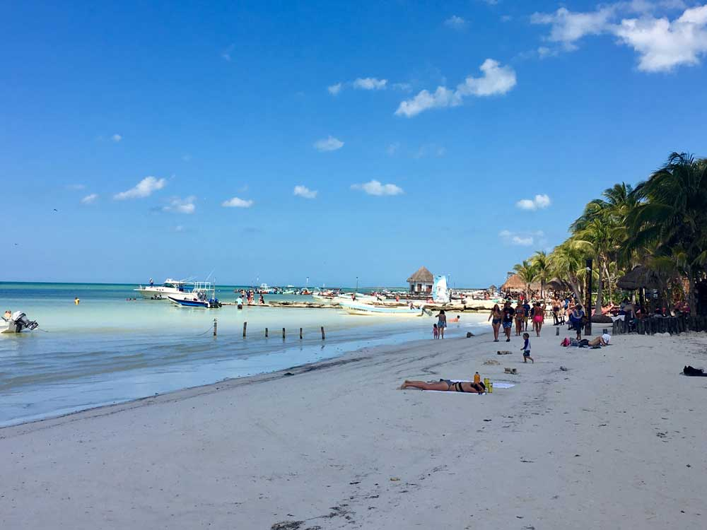 Insel-Holbox-Strand
