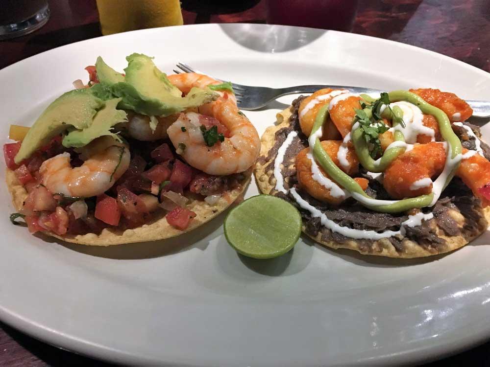Tacos mit Shrimps