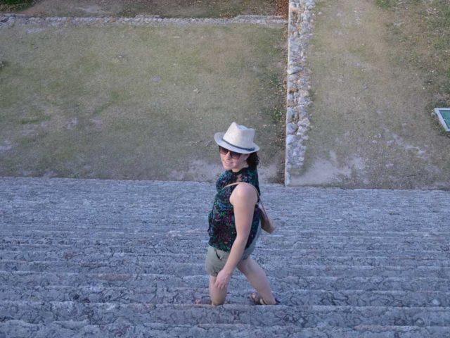 Uxmal Treppen