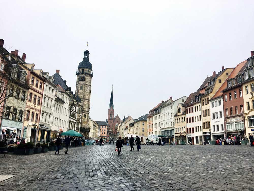 Altenburg-Stadt-Marktplatz