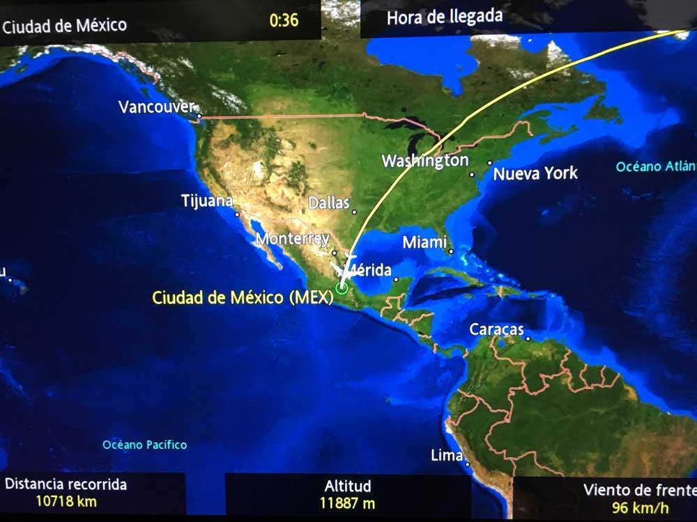 Flugzeug Bildschirm