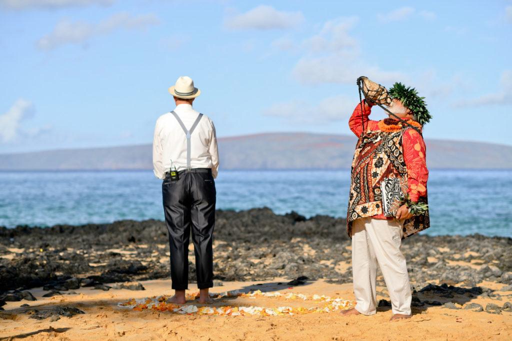 Hawaii-Priester Hochzeit