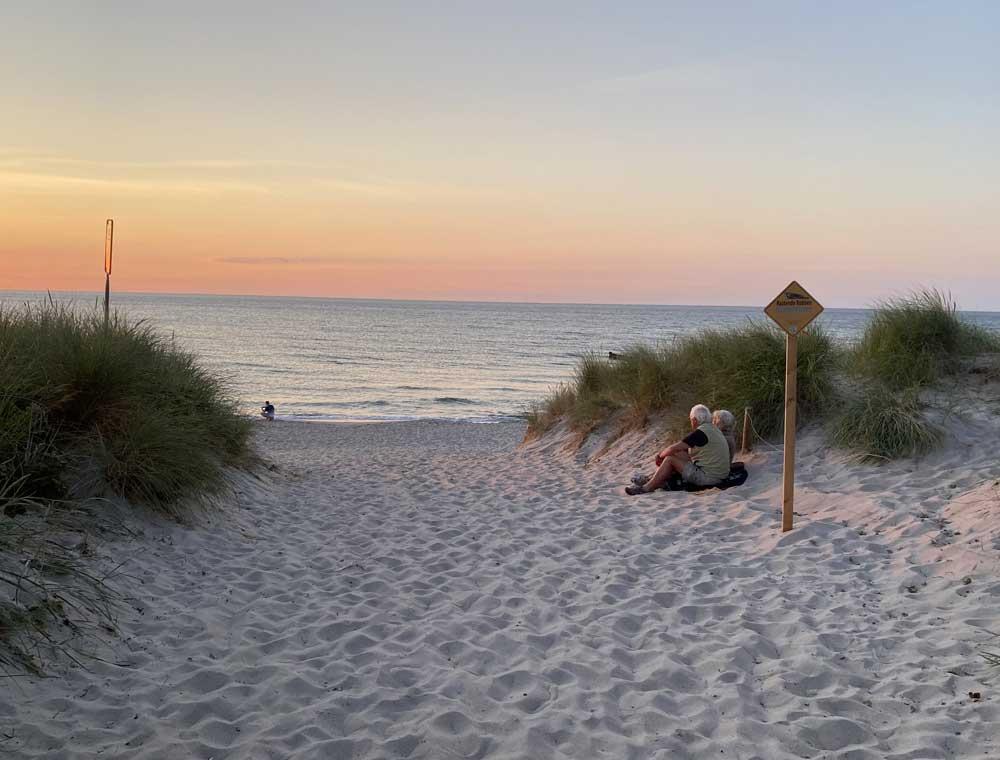 Strand-romantisch